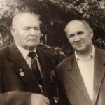 с Еникеевым Исхаком Исмагиловичем, 1-м секретарём ГК КПСС.