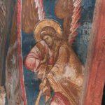 фреска Ангел с трубой