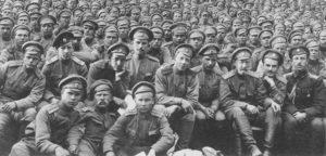на Первой мировой.