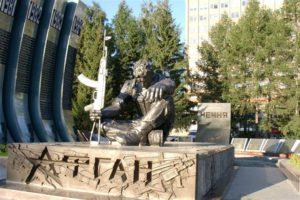 памятник воинам - интернационалистам в Екатеринбурге