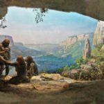 пещера первобытного человека