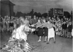 сожжение книг в Третьем рейхе