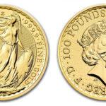 золотая инвест. монета Британия, Великобритания
