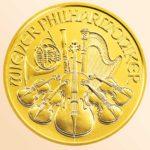 золотая инвест. монета Филармоникер, Австрия