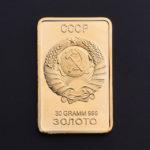 слиток золота 30 гр., СССР