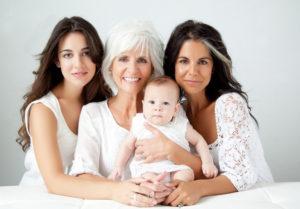 четыре поколения семьи