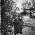 странник в Серафимо - Дивеевском монастыре, 1904 г.
