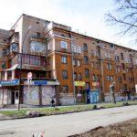 дом на Банникова и Красных партизан, напротив гнезда