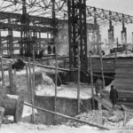 УЗТМ строится, 1931 г.