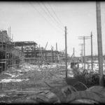 УЗТМ, 12.03.1931 г. строительство главного заводского коридора