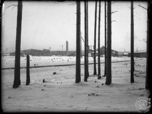 УЗТМ, 1930 г. общий вид строительной площадки