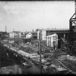 УЗТМ, 1930 г. строительство главного заводского коридора