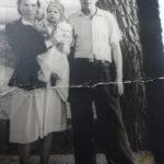 Хана Самигулловна с мужем и ребёнком