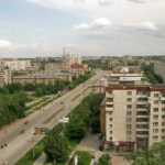 вид на ул. Победы от ул. Ильича