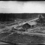 вид с крыши ФЗУ на ул. Машиностроителей, 1932 г.
