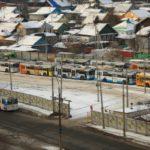 восточные ворота депо и частный сектор в районе ул. Ташкентская