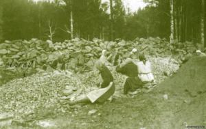 камнебойки. ручное изготовление щебёнки