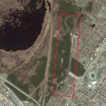 контуры Танковой дороги в парке Победы