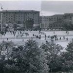 на площади, начало 1960-х гг.