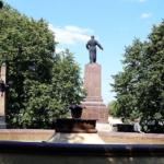 памятник С. Орджоникидзе, вид с тыла