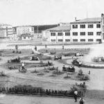 площадь Первой Пятилетки, вид от заводоуправления