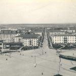 пл. Первой пятилетки с памятником Ленину