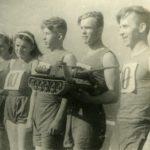 победители эстафеты За тяжелое машиностроение, 1948 г.