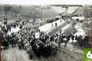 похороны А.П. Банникова, апрель 1932 г.