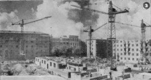 пр. Орджоникидзе со двора, дома 4, 4а, 6, 6а, 1957 г.