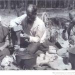 семья крестьян - строителей завода, 1929 г.