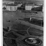 сквер на площади, 1939 г.