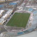 стадион Уралмаш до реконструкции, вид сверху