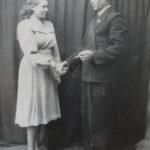 с мужем, 1952 г.