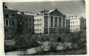 терапевтический корпус больничного городка на XXII Партсъезда, 1957 г.