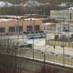 троллейбусное депо в районе Бакинских комиссаров и Коммунистической