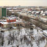 ул. Бакинских комиссаров в районе троллейбусного депо