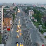 ул. Донбасская в сторону от Белой башни