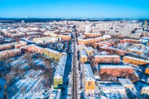 ул. Орджоникидзе, направление на север