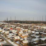 частный сектор в районе Народного фронта и Ярославской и антенное поле