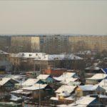 частный сектор за депо и вид на дома ШКЗ