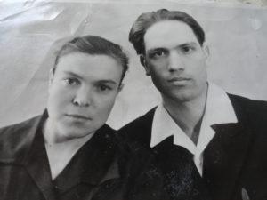 Мария Петровна с мужем