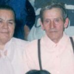 Ольга Григорьевна с мужем