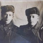 слева муж, Павел Семенович с другом Горбуновым Владимиром