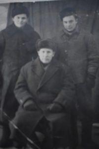 Шаяхметов Мансур Нуреевич с племянниками Фатихом и Галимом