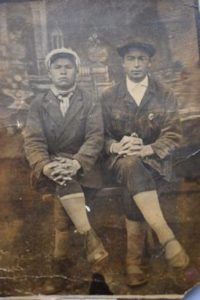 слева Зайнуллин Хайрильвара - муж Зулейхи, справа Шагибеков Гариф