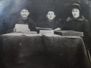 сотрудники Артели Кунафин, Осипов, Шагибеков С.З.
