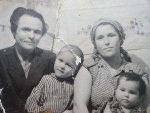 1962 г. Фатих, Уркия, дети Галимьян и Альфия