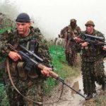 российские военные в Чеченские войны